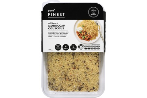 Pams Finest All Natural Moroccan Couscous 300g