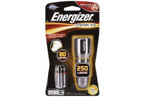 Energizer Vision HD Metal Torch 250 Lumens