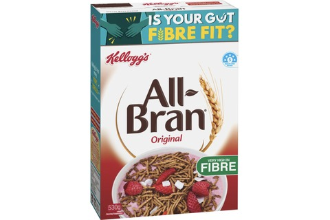Kelloggs All Bran Cereal Original 530g