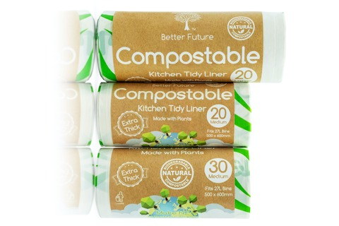 Compostable Kitchen Tidy Liner - Made with Plants