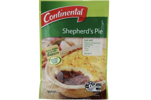 Continental Meal Bases & Gravy Mix 30g-50g
