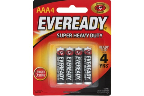 Eveready SHD AAA Battery 4pk*