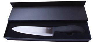 Knife Black Ceramic - Chefs 8