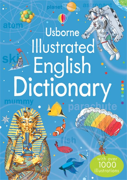 Dictionary - Usborne Illustrated English