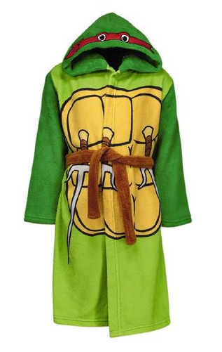 Teenage Mutant Ninja Turtles Robe Size 6 only