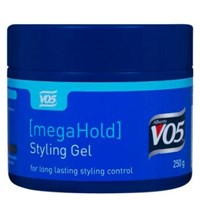 Vo5 Hair Gel Mega Hold Tub 250g