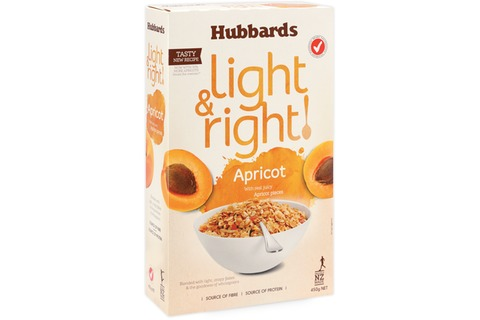 Hubbards Light & Right Cereal 450g*