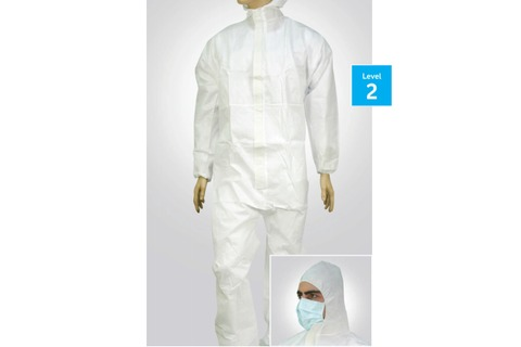 Coveralls 60gsm Fluid Resistant  - Box/50