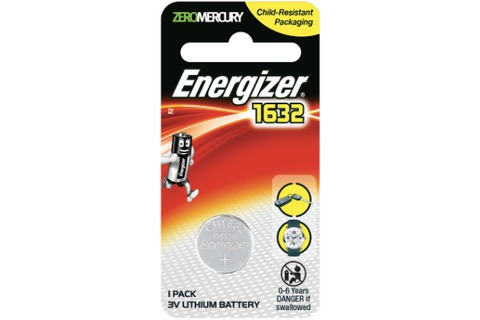 Battery - Energizer Lithium CR1632
