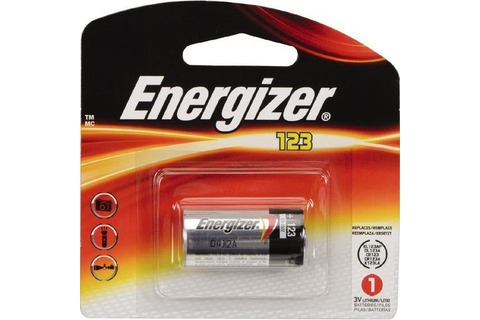 Battery - Energizer Lithium 123