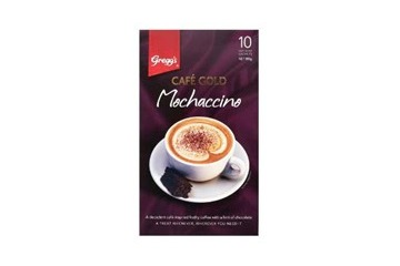 Greggs Cafe Gold Coffee Mix Mochaccino 10s*