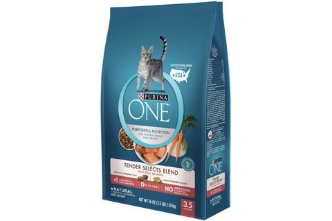 Purina One Dry Cat Food bag 1.59kg