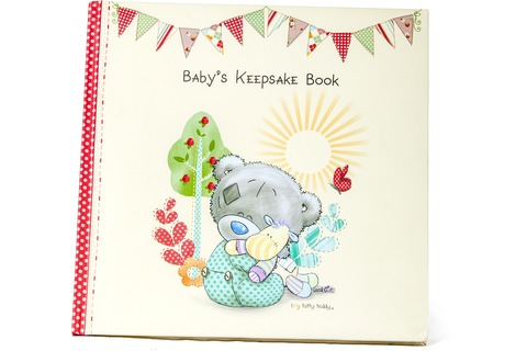 Me to you Tatty Teddy Bear Babys Keepsake Book
