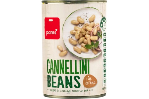Pams Cannellini Beans 400g
