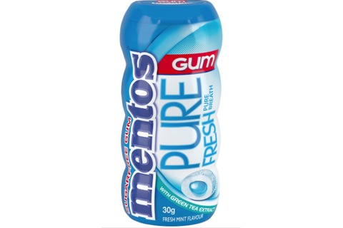 Mentos Pure Fresh Chewing Gum 30g