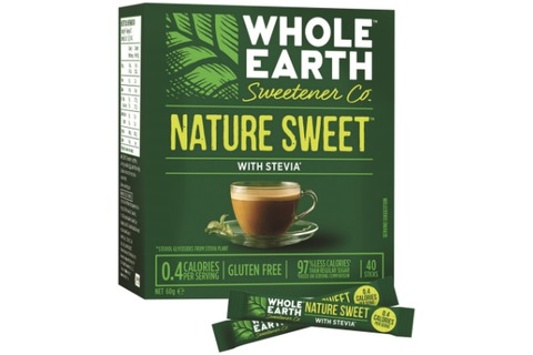 Whole Earth Nature Sweet - Sugar Substitute Sweetener 60g sachets 40pk