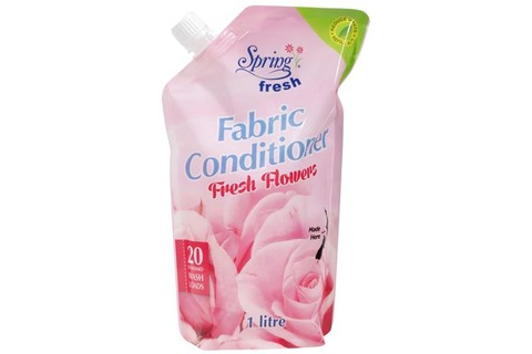 Spring Fresh Fabric Softener - Fresh Flowers 1L refill
