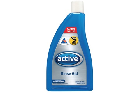 Active Dishwasher Rinse Aid Regular
