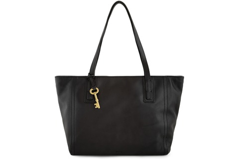 Fossil Leather Tote Bag - Emma