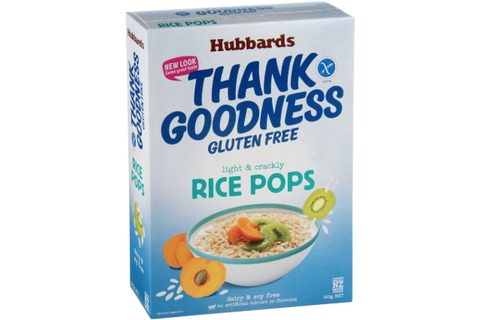 Hubbards Thank Goodness Rice Pops Gluten Free 360g*