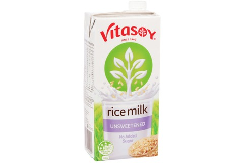 Vitasoy Rice Milk Unsweetened 1L