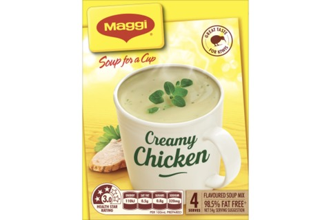 Maggi Soup For A Cup Creamy Chicken 4pk*